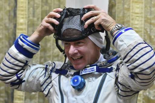 is the first American to make three long-duration flights to orbit, and will break a US record set by astronaut Scott Kelly earl