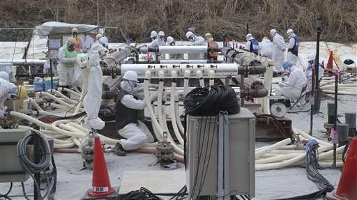 Japan regulators OK costly ice wall at Fukushima plant