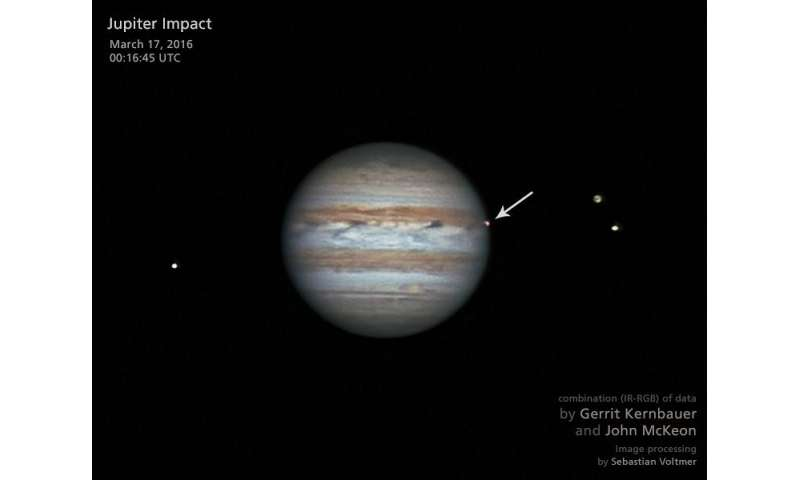 Jupiter blasted by 6.5 fireball impacts per year on average