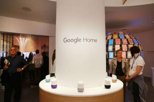 """Just like Mark Zuckerberg's """"butler"""", Jarvis, Google Home (pictured), Amazon Echo, and other personal assistants also"""