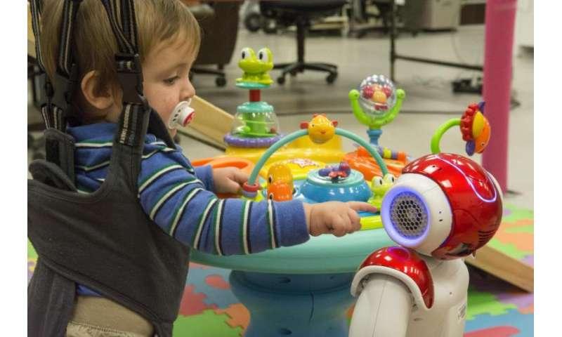 Kids' robotic rehab