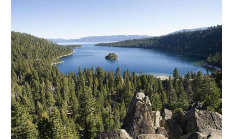 Lake Tahoe experienced a record-breaking year in 2015