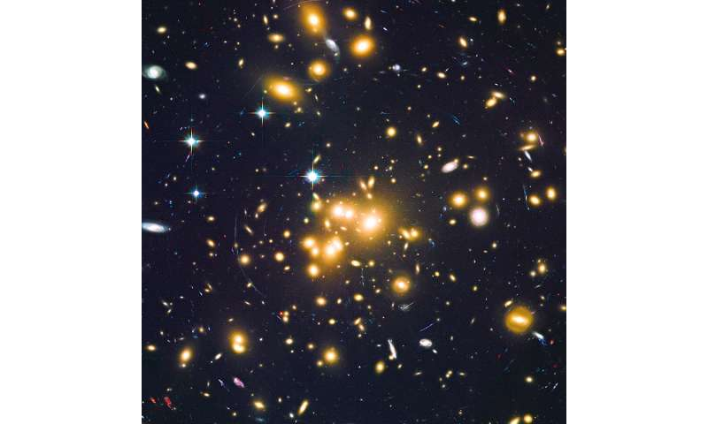 Large number of dwarf galaxies discovered in the early universe