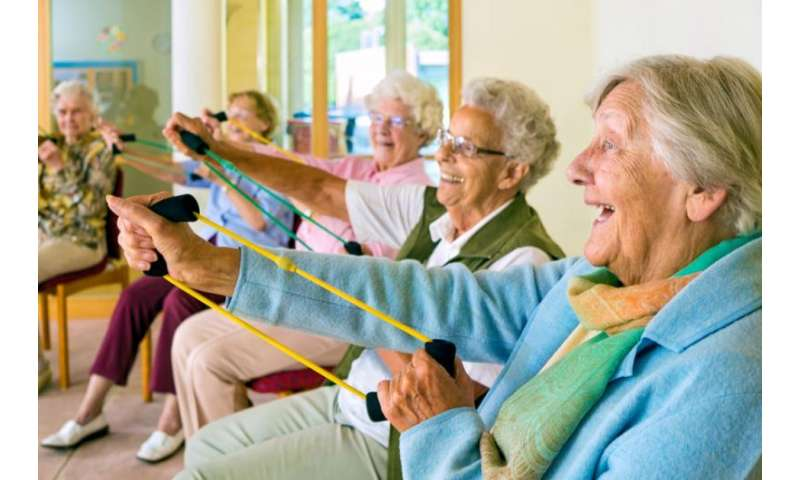 Laughter-based exercise program for older adults has health benefits, researchers find