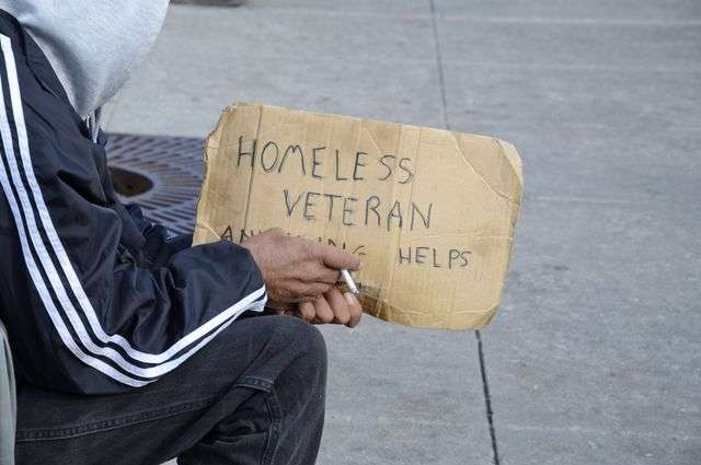 Leading homeless veterans back into mainstream of life