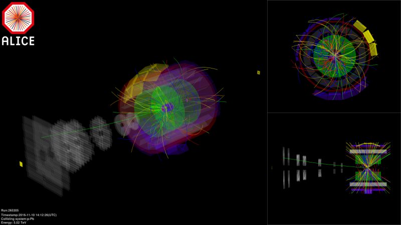 LHC begins colliding proton beams with beams made up of heavy ions