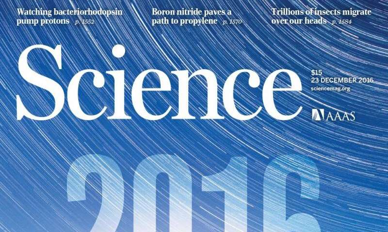 LIGO discovery named Science's 2016 Breakthrough of the Year
