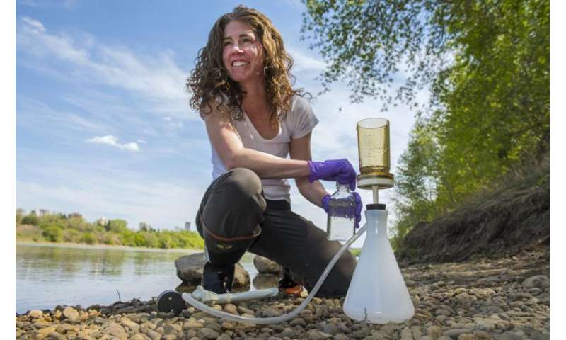 Long-term data set reveals influx of carbon in river system over 40-year period