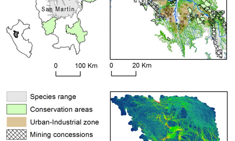 Mapping software tracks threats to endangered species