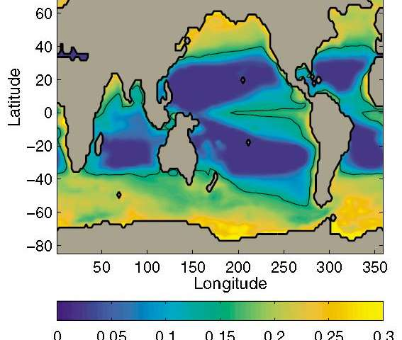 Marine carbon sinking rates confirm importance of polar oceans
