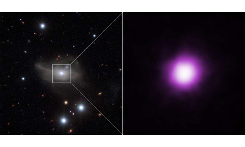 Markarian 1018: Starvation Diet for Black Hole Dims Brilliant Galaxy