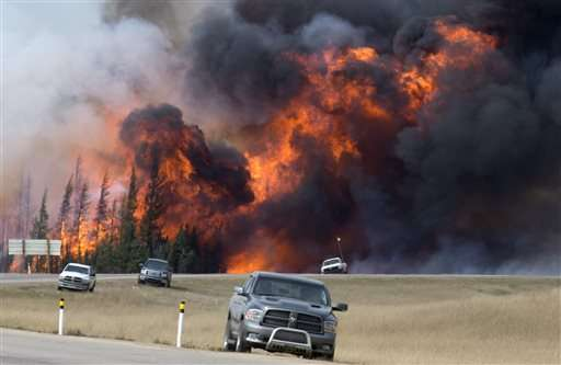 Massive Alberta wildfire expected to burn for months