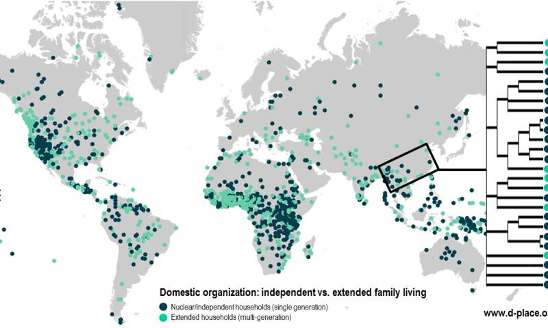 Massive open-access database on human cultures created