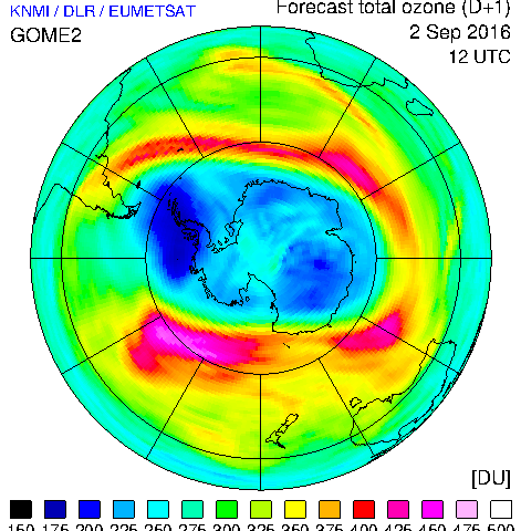 Measuring ozone from space