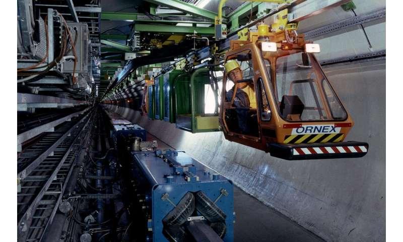 Meet TIM, the LHC tunnel's robot