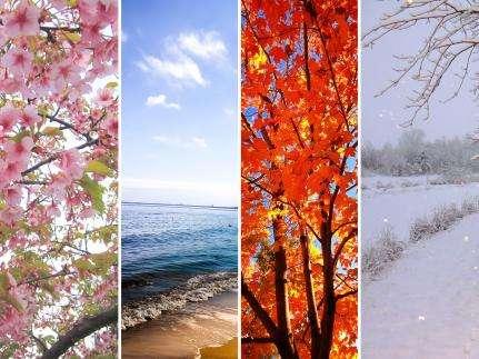Meteorological versus astronomical seasons