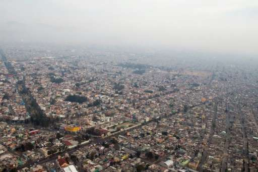 Mexico City, blanketed by smog, issued the first air pollution alert in 14 years in March due to high ozone levels, restricting