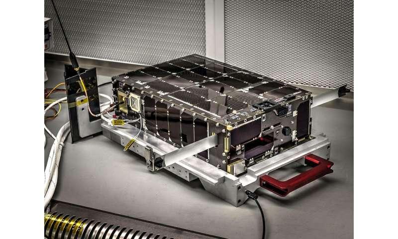 Mini NASA satellite begins environmental testing