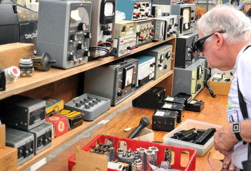 MIT's flea market specializes in rare, obscure electronics