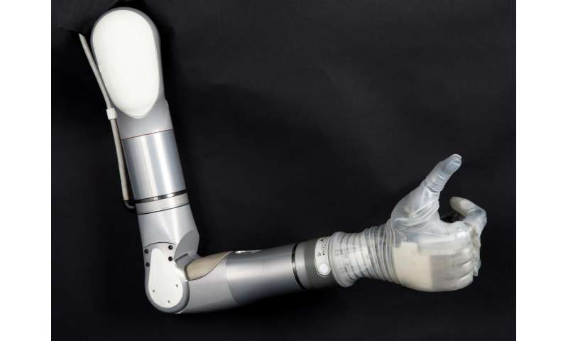 Mobius Bionics accepting names of people interested in LUKE arm