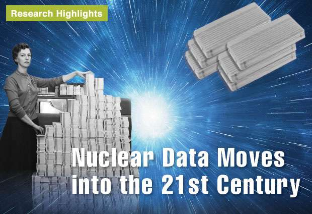 Modernizing the format of nuclear data
