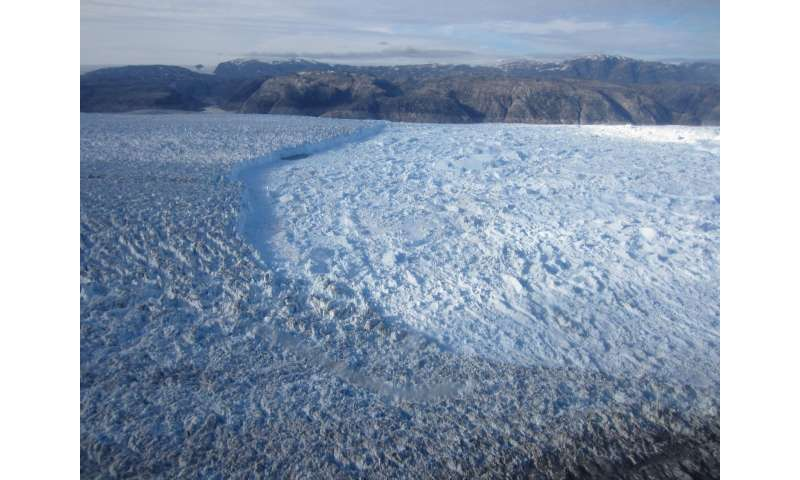 Most meltwater in Greenland fjords likely comes from icebergs, not glaciers