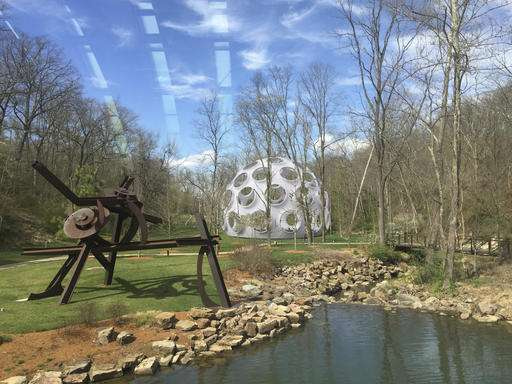 Museum getting a massive geodesic dome with 61 glass eyes