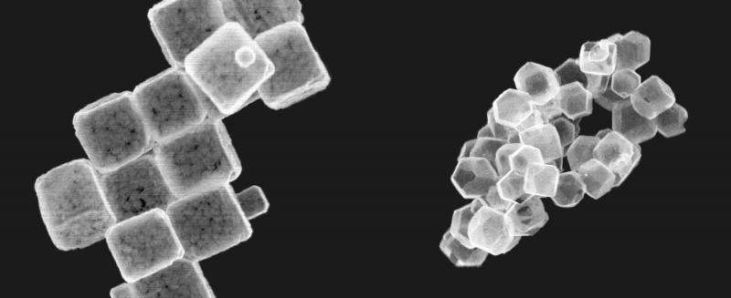 Nanocage surfaces get 'makeover' in room temperature