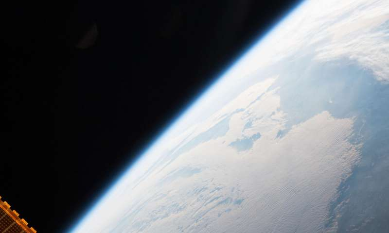 NASA image: CubeSats deployed from the international space station