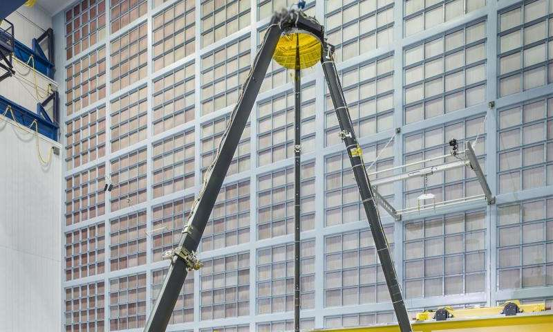 NASA marks major milestones for the James Webb Space Telescope