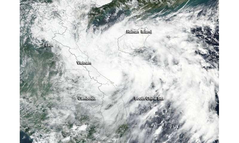 NASA-NOAA satellite sees rebirth of Aere the zombie storm