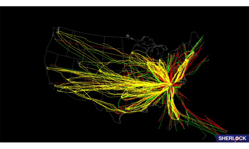NASA pulls together national data to sleuth out air traffic improvement mysteries