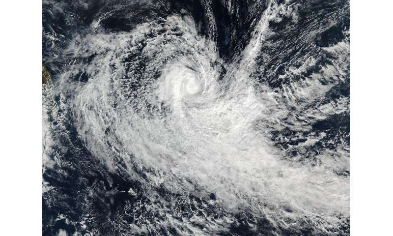 NASA sees a tightly wrapped Tropical Cyclone Abela