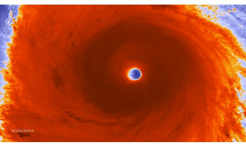 NASA sees Super Typhoon Nepartak approaching Taiwan