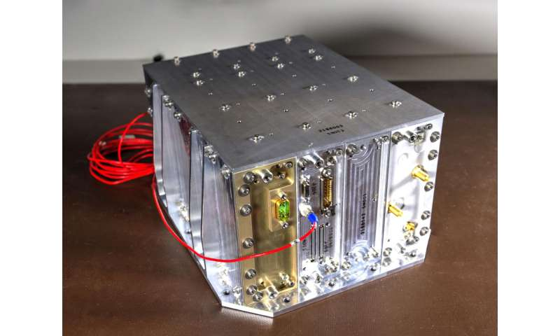 NASA's NavCube could support an X-ray communications demonstration in space -- a NASA first