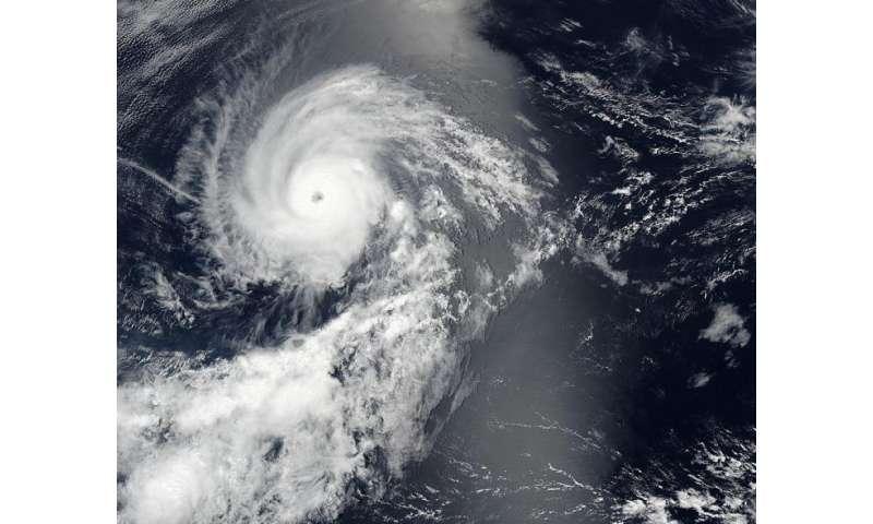 NASA spies major Hurricane Georgette
