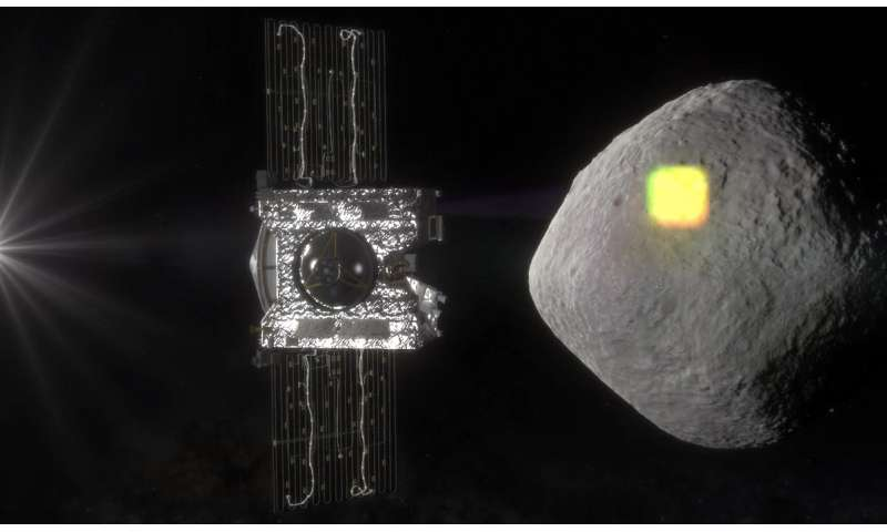 NASA to map the surface of an asteroid