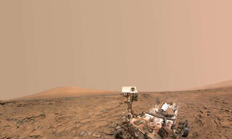 NASA weighs use of rover to image potential Mars water sites