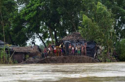 Nearly 1.4 billion people in South Asia—India, Bangladesh, Pakistan—face at least one major threat, especially flooding, severe