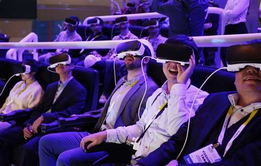 Never tried virtual reality? Here's what it's like