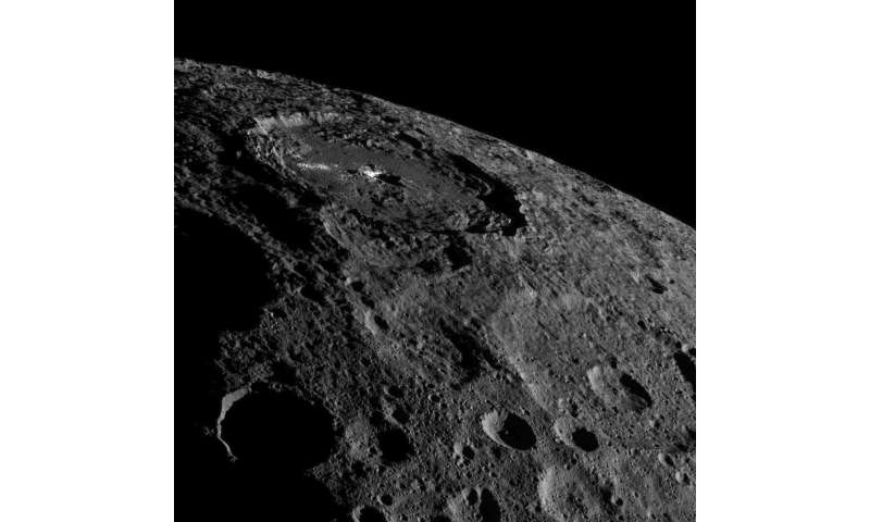 New Ceres views as Dawn moves higher