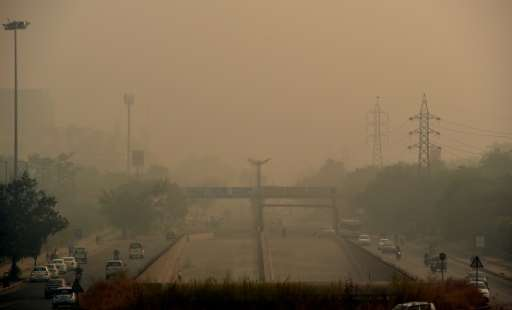 New Delhi's air quality has steadily worsened over the years, a consequence of rapid urbanisation that brings pollution from die