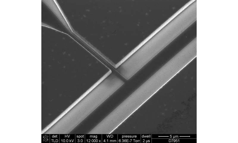 New device steps toward isolating single electrons for quantum computing