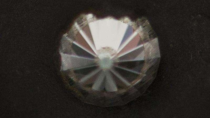New diamond harder than ring bling