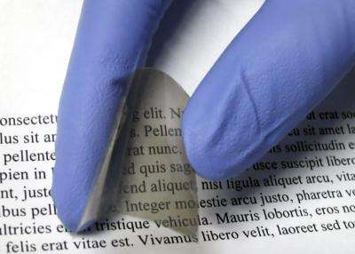 New flexible material can make any window 'smart'
