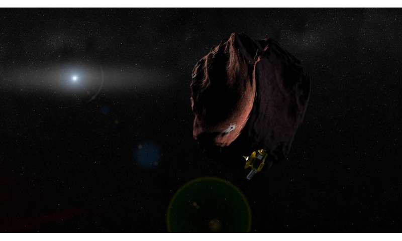 New Horizons: Possible clouds on Pluto, next target is reddish