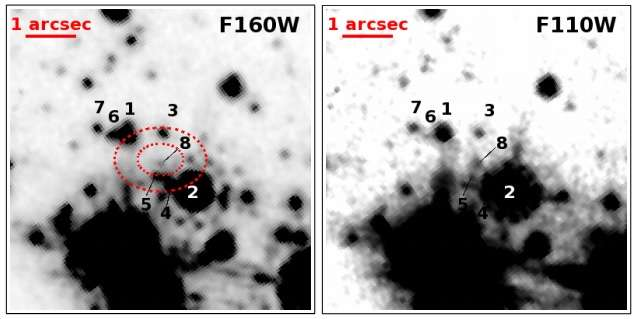 New infrared source detected in supernova remnant RCW 103