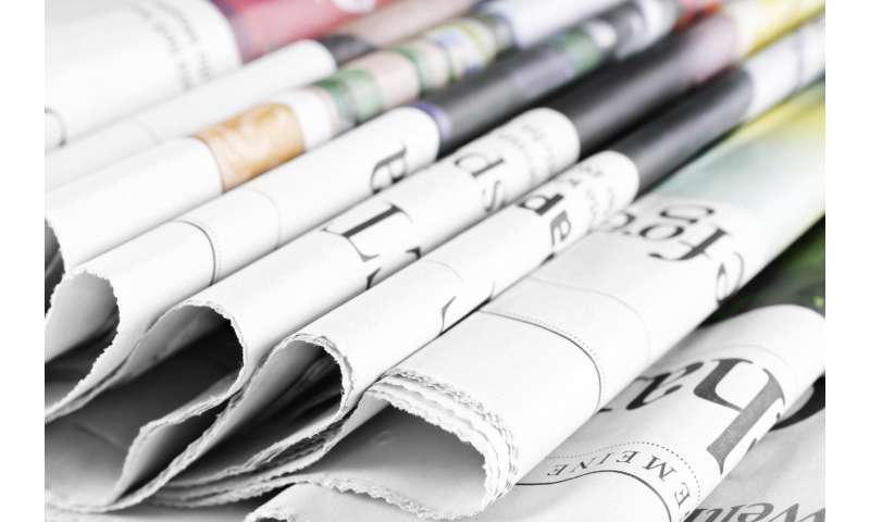 Newspapers: The high price of low demand
