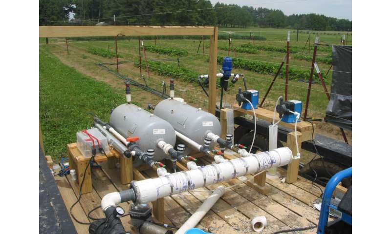 New study to help growers implement water treatment, minimize food safety risks