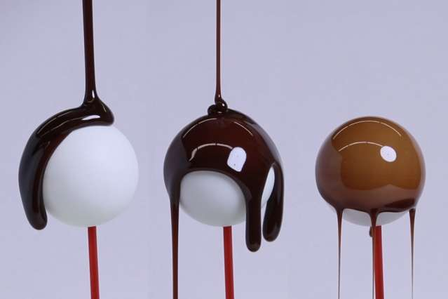 New theory, inspired by chocolate coatings, predicts thickness of thin shells